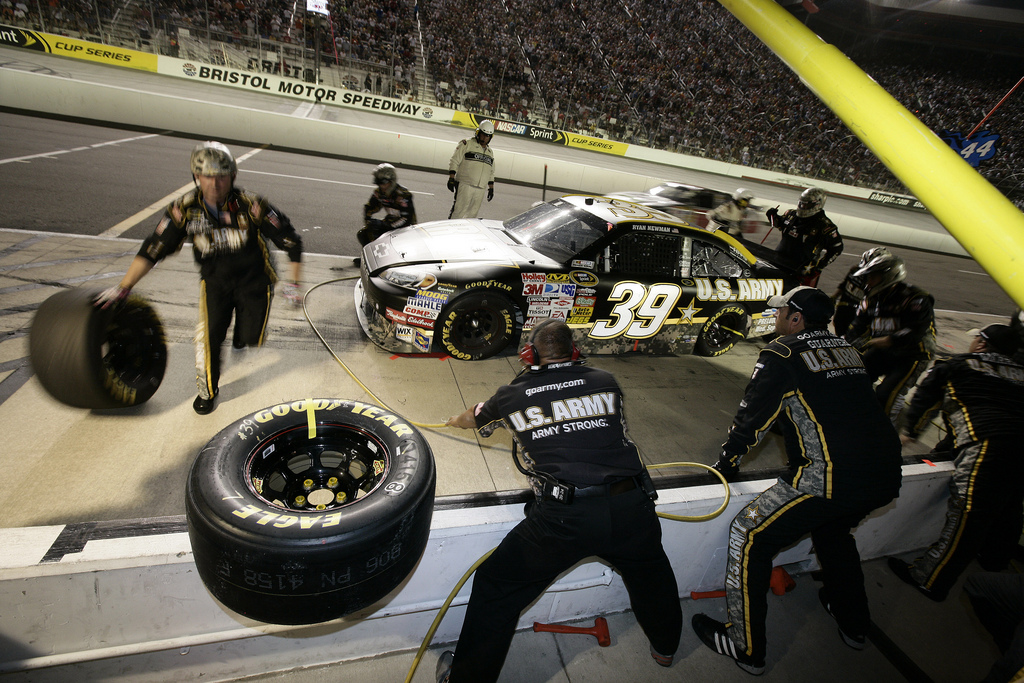 Making Tires Faster For Nascar Performance Plus Tire