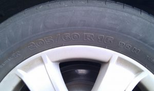 tire number