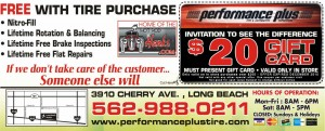 Performance Plus Tire Coupon