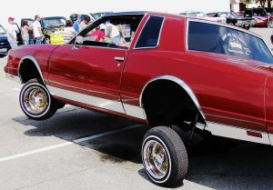 red lowrider