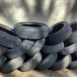 tires in a pile
