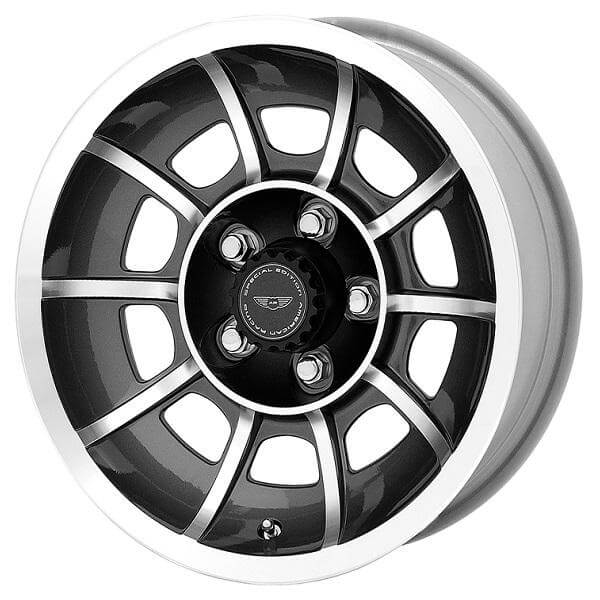 Vn47 Vector Anthracite Rim With Machined Face By American