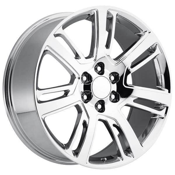 Cadillac Escalade 2015 Style 48 Pvd Chrome Rim By Factory