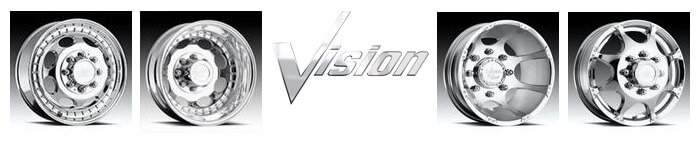 Click Here to shop for Vision Dually Wheels