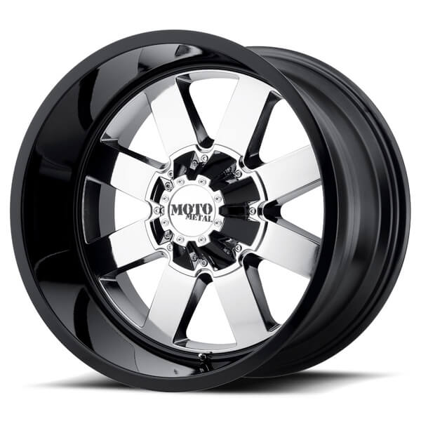 mo962 pvd center rim with gloss black lip by moto metal wheels wheel size 22x10 performance. Black Bedroom Furniture Sets. Home Design Ideas