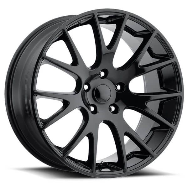 Dodge Truck Bolt Pattern Chart >> DODGE HELLCAT STYLE 70 GLOSS BLACK TRUCK RIM by FACTORY REPRODUCTIONS WHEELS - Performance Plus Tire