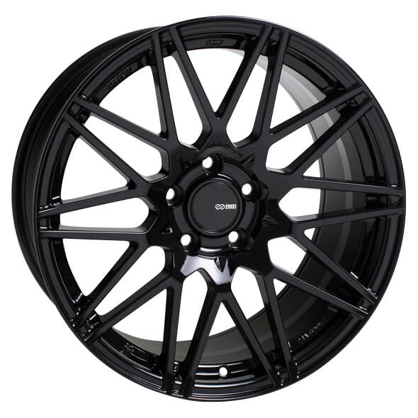 Dually Wheel And Tire Packages >> TMS GLOSS BLACK RIM by ENKEI TUNING SERIES WHEELS - Performance Plus Tire