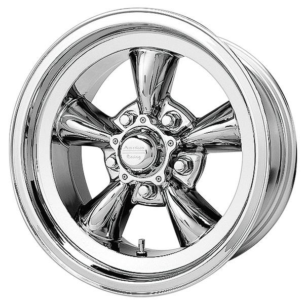 vn605d torq thrust d chrome rim by american racing wheels wheel size 15x10 performance plus tire. Black Bedroom Furniture Sets. Home Design Ideas