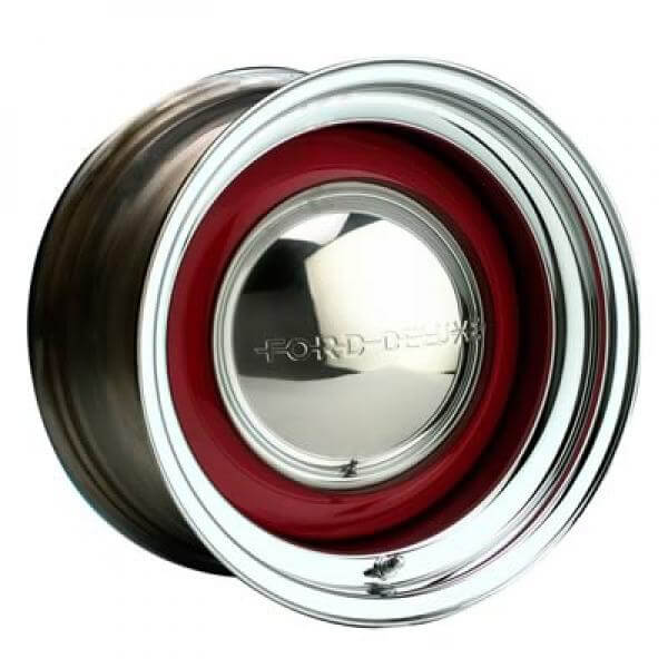 21 Series Solid Chrome Bare Rim Cap Not Included By