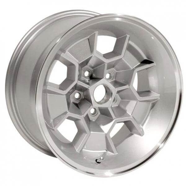 HONEYCOMB SILVER RIM with MACHINED LIP by YEARONE WHEELS - Performance Plus Tire
