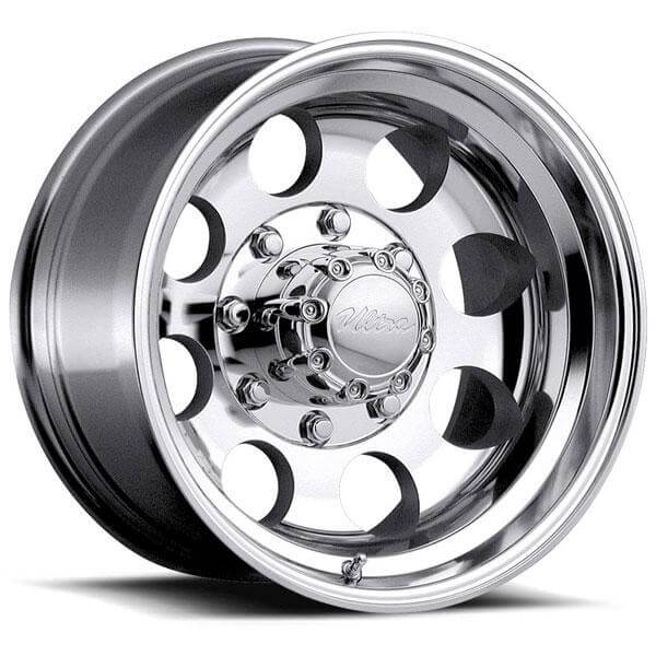 type 164 polished rim by ultra wheels wheel size 15x10 performance plus tire. Black Bedroom Furniture Sets. Home Design Ideas