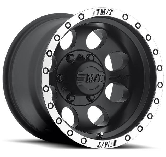 CLASSIC BAJA LOCK BLACK RIM with MACHINED BEAD LOCK by ...