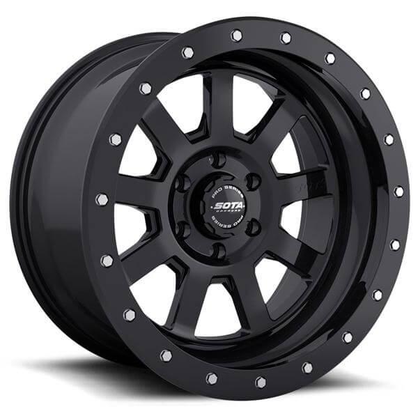 S S D Satin Black Rim 5 Amp 6 Lug By Sota Offroad Wheels