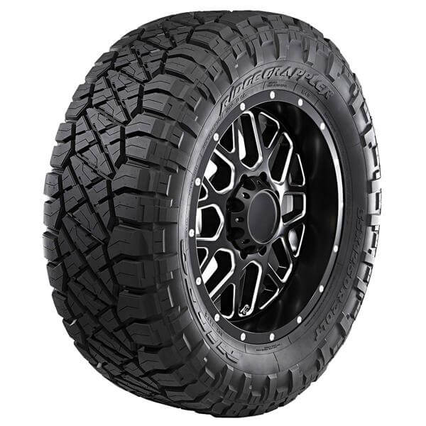 RIDGE GRAPPLER MUD TIRE by NITTO TIRES Light Truck Tire Size LT265/70-17 - Performance Plus Tire